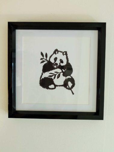 linogravure panda