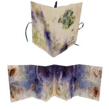 livre artiste ecoprint