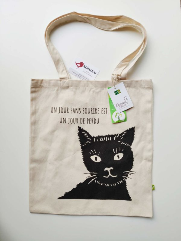 Tote-bag-chat-sourire