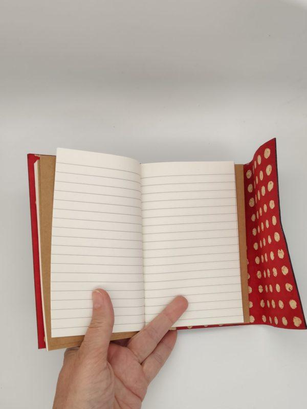 carnet cuir voyage notes dessin bullet journal