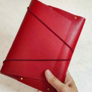 pochette cuir organizer
