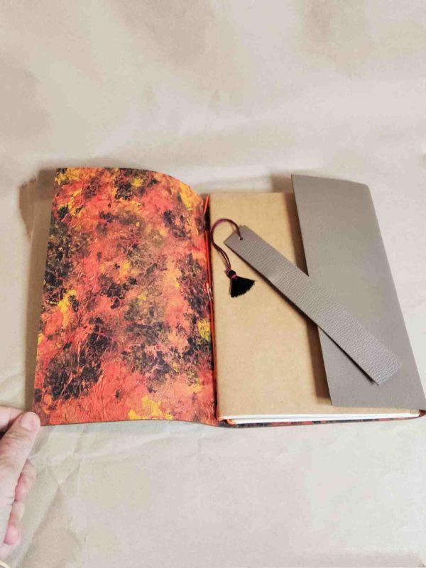 Kokelico carnet compagnon cuir midori voyage bullet journal