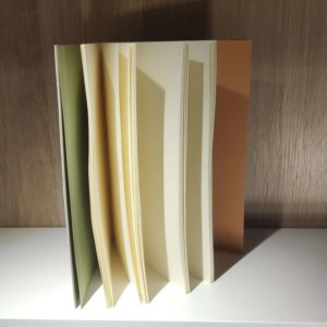 carnet dessin ecoprint